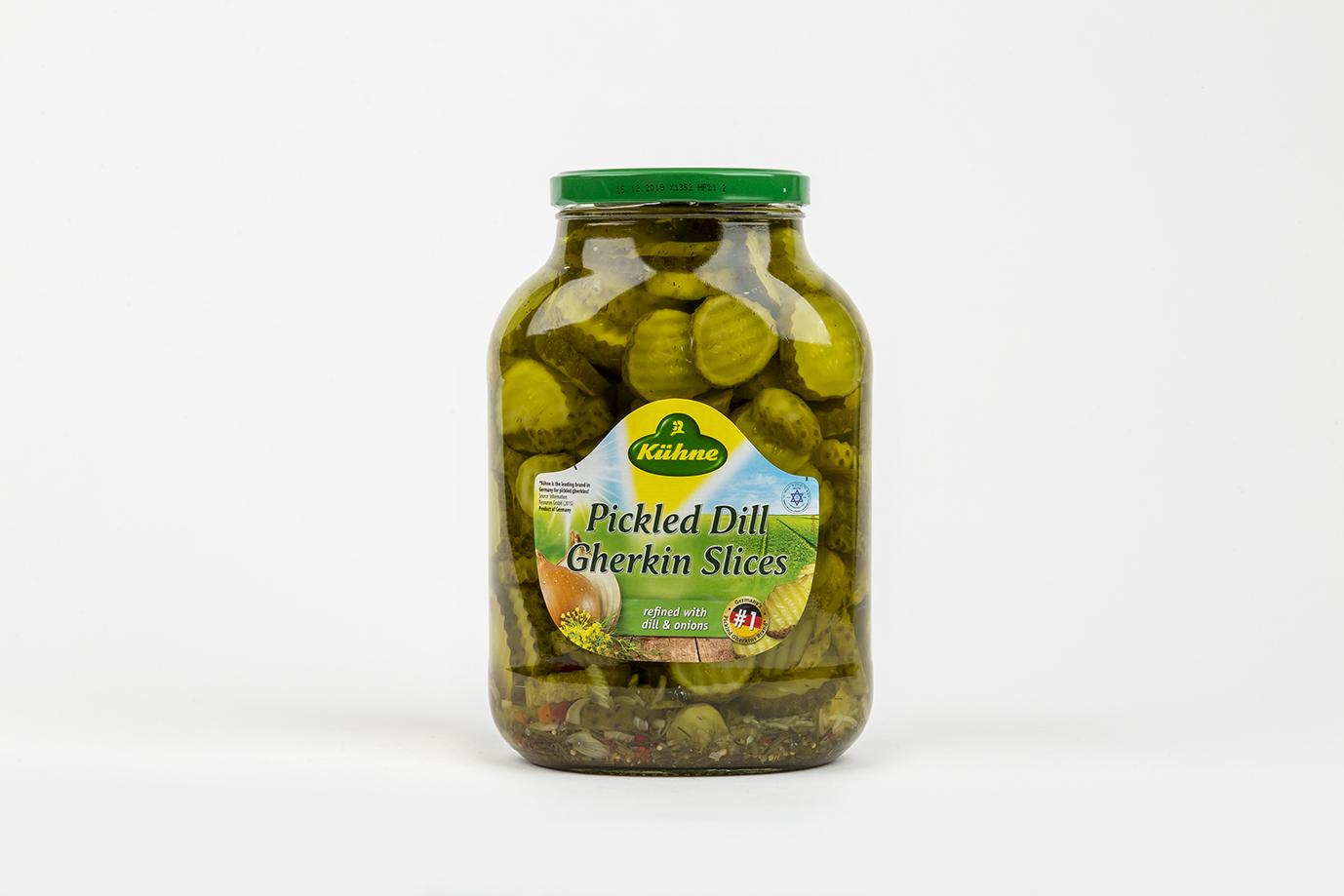 Image of Sliced Gherkins (Jar) 2.45kg