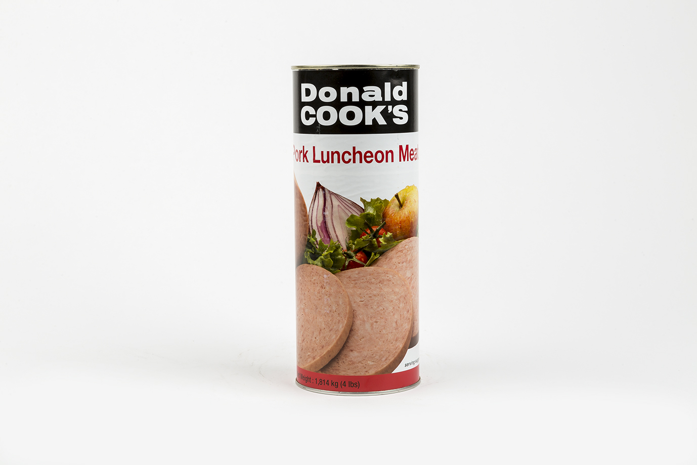 Image of Pork Lunch Meat 4lb Tin