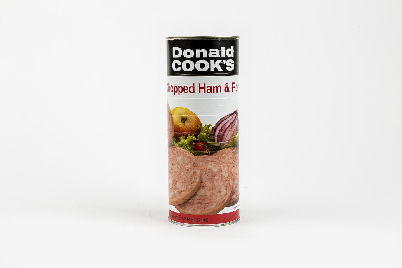 Image of Ham & Pork Chopped Tin 1.8kg