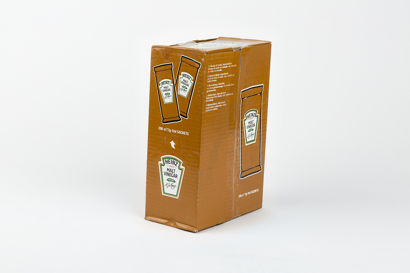 Image of Heinz Malt Vinegar Sachets x 250