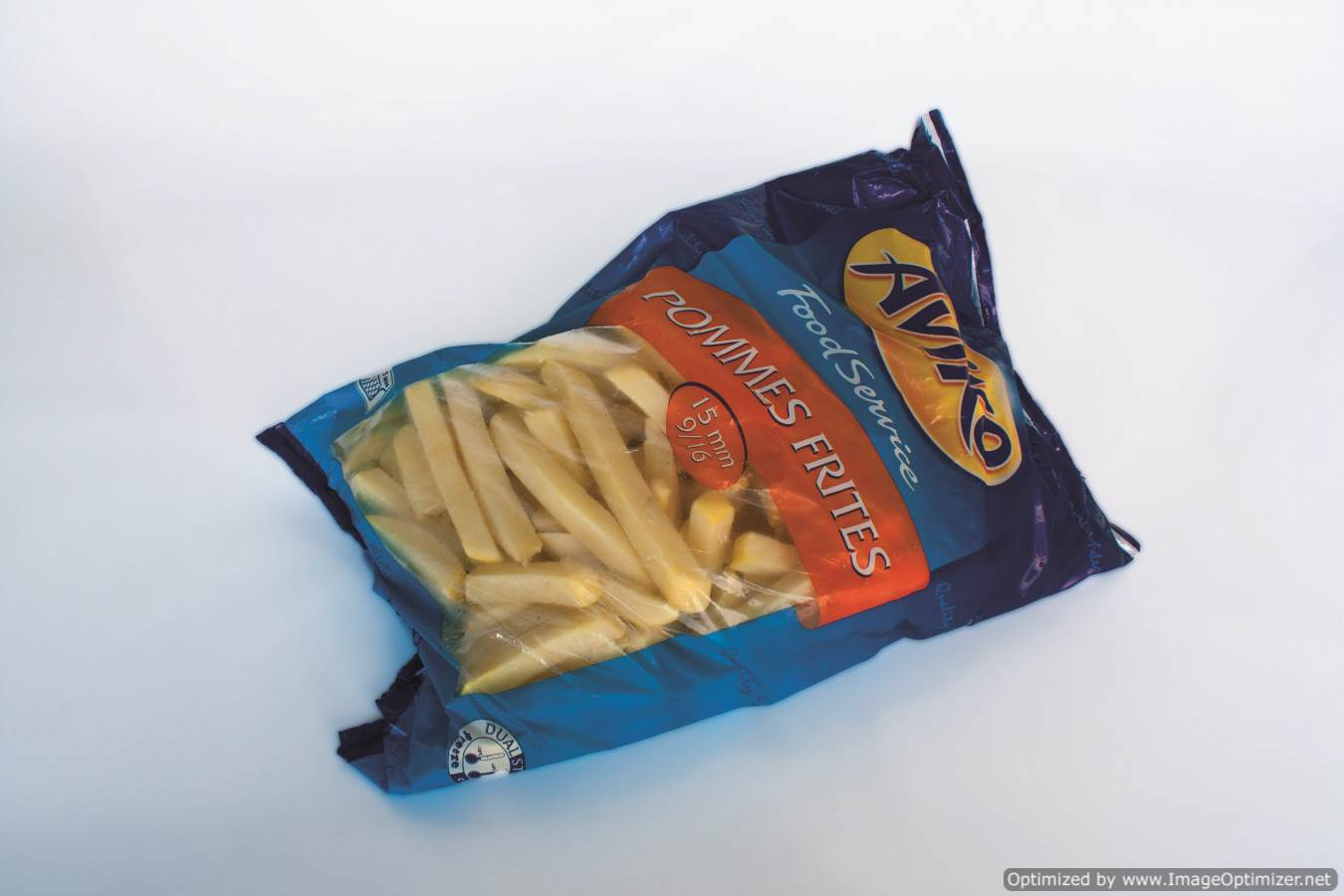 Image of Aviko 9/16 (15mm) Chips BAG 2.27kg