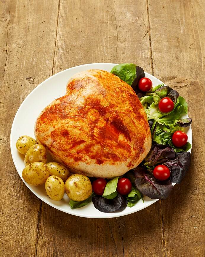 Image of Cooked Fresh Whole 98% Turkey Breast
