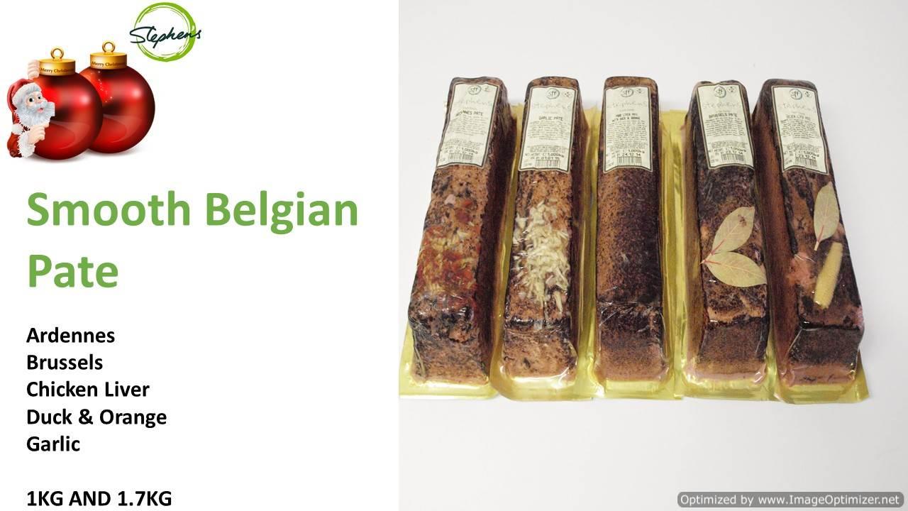 Image of Christmas Garlic Pate Log 1kg