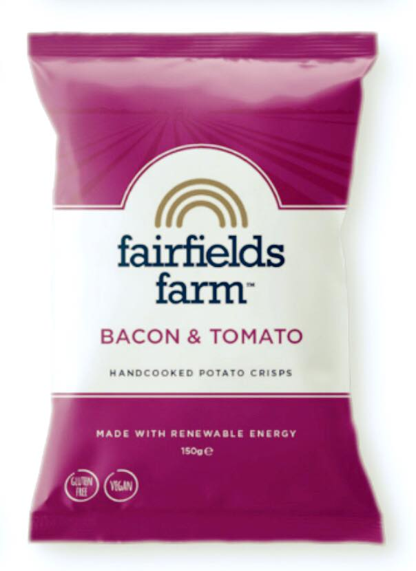 Image of Fairfields Crisps Bacon & Tomato (24)