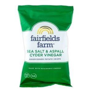 Fairfields Crisps Sea Salt & Aspall Cyder Vinegar