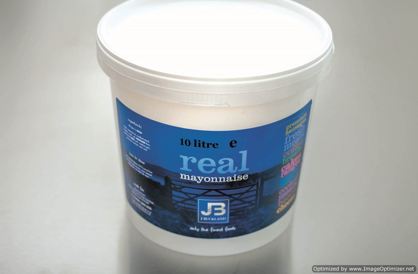 Image of J. Buckland Luxury Mayonnaise 10 Litre