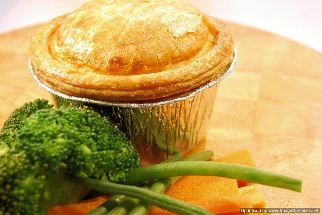 Gourmet Steak & Ale Pie 6 x 8oz Wrapped