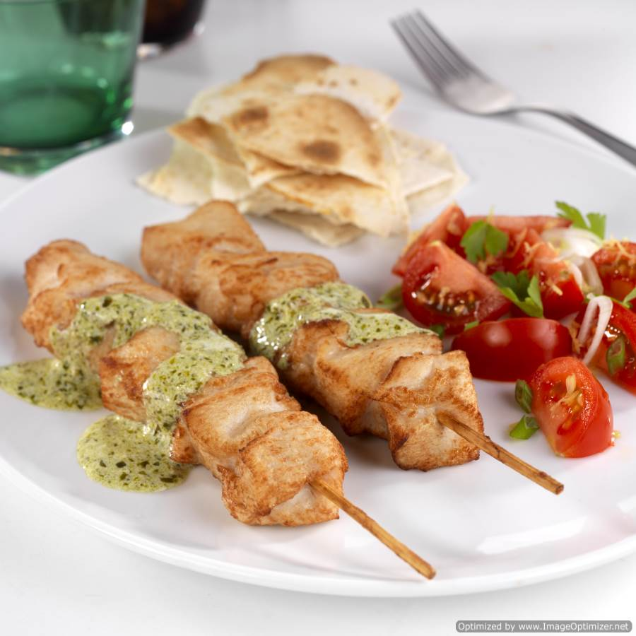 Roasted Chicken Breast Kebabs 2kg