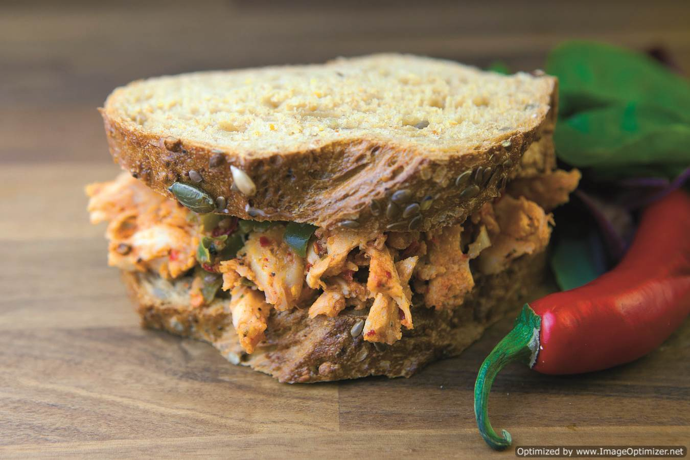 Piri Piri Chicken Wet Sandwich Filling