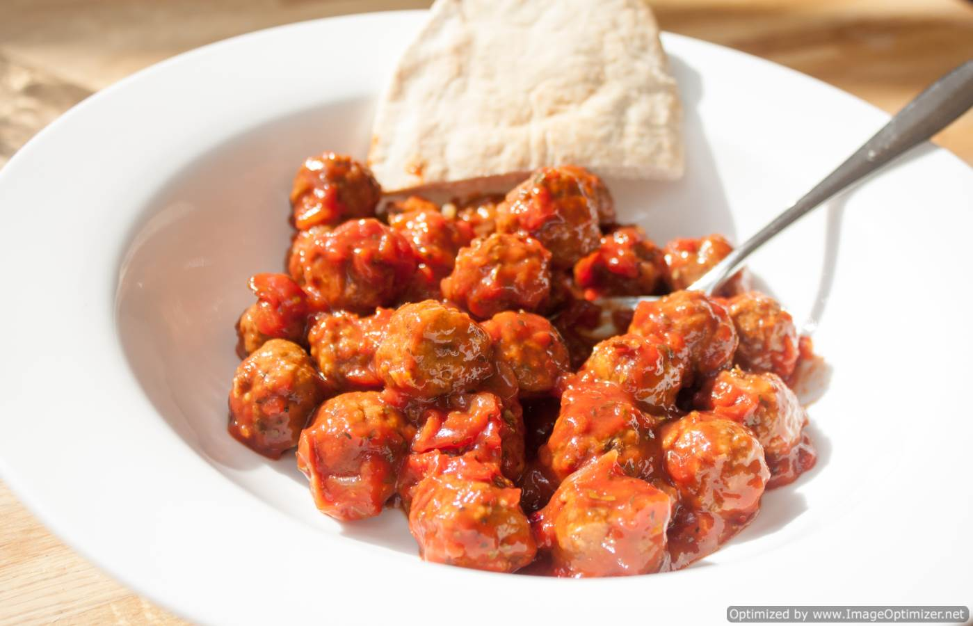 Spicy Meatballs Sandwich Filling