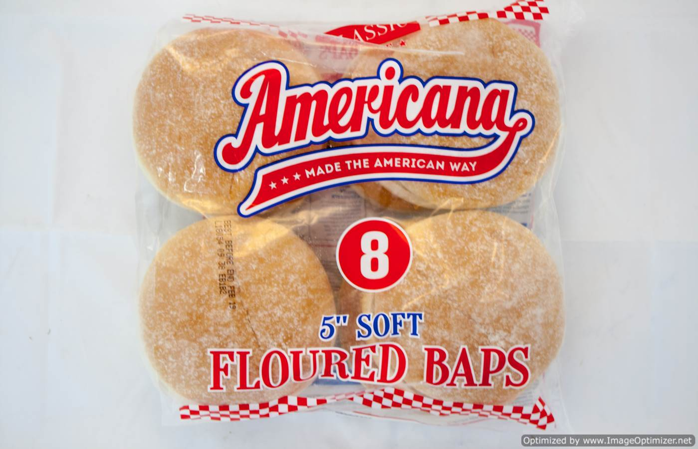 Floured Bun 5 Inch PACKET
