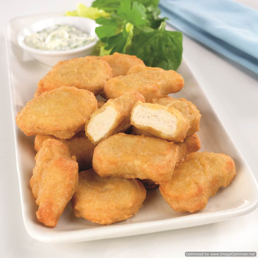 Image of Chicken Nuggets (Battered) 1kg Meadowvale