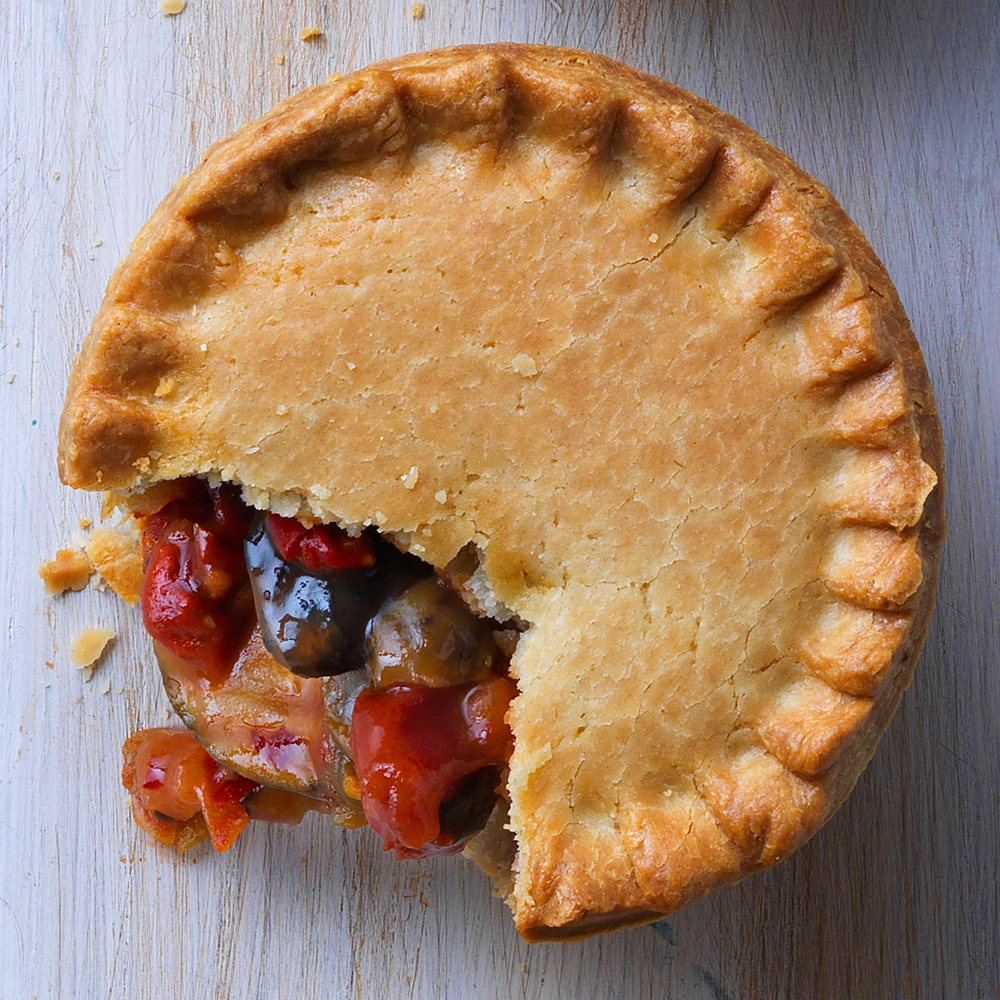 Image of Vegan Pie - Mediterranean Vegetable 8oz x 12