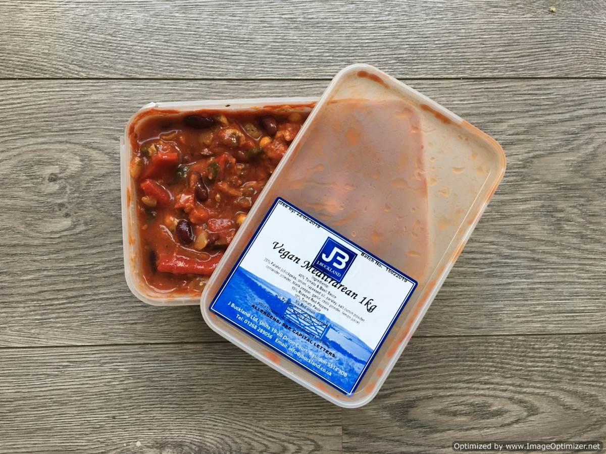 Vegan Mediterranean Sandwich Filling 1kg