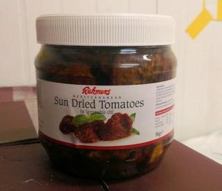 Image of Sundried Tomatoes 1kg Jars