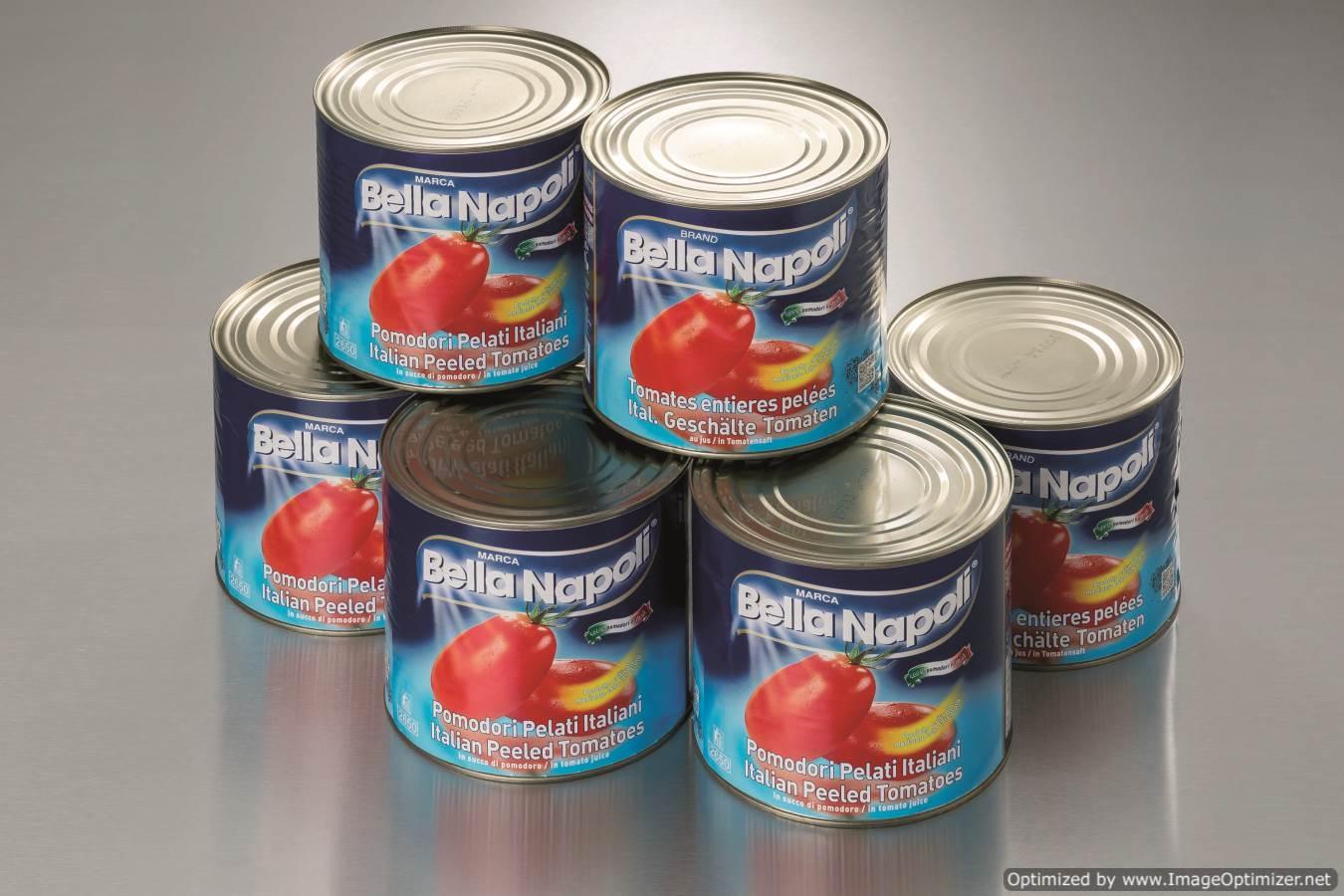 Tomatoes ITALIAN Plum - 1 case 6 x 2.55kg