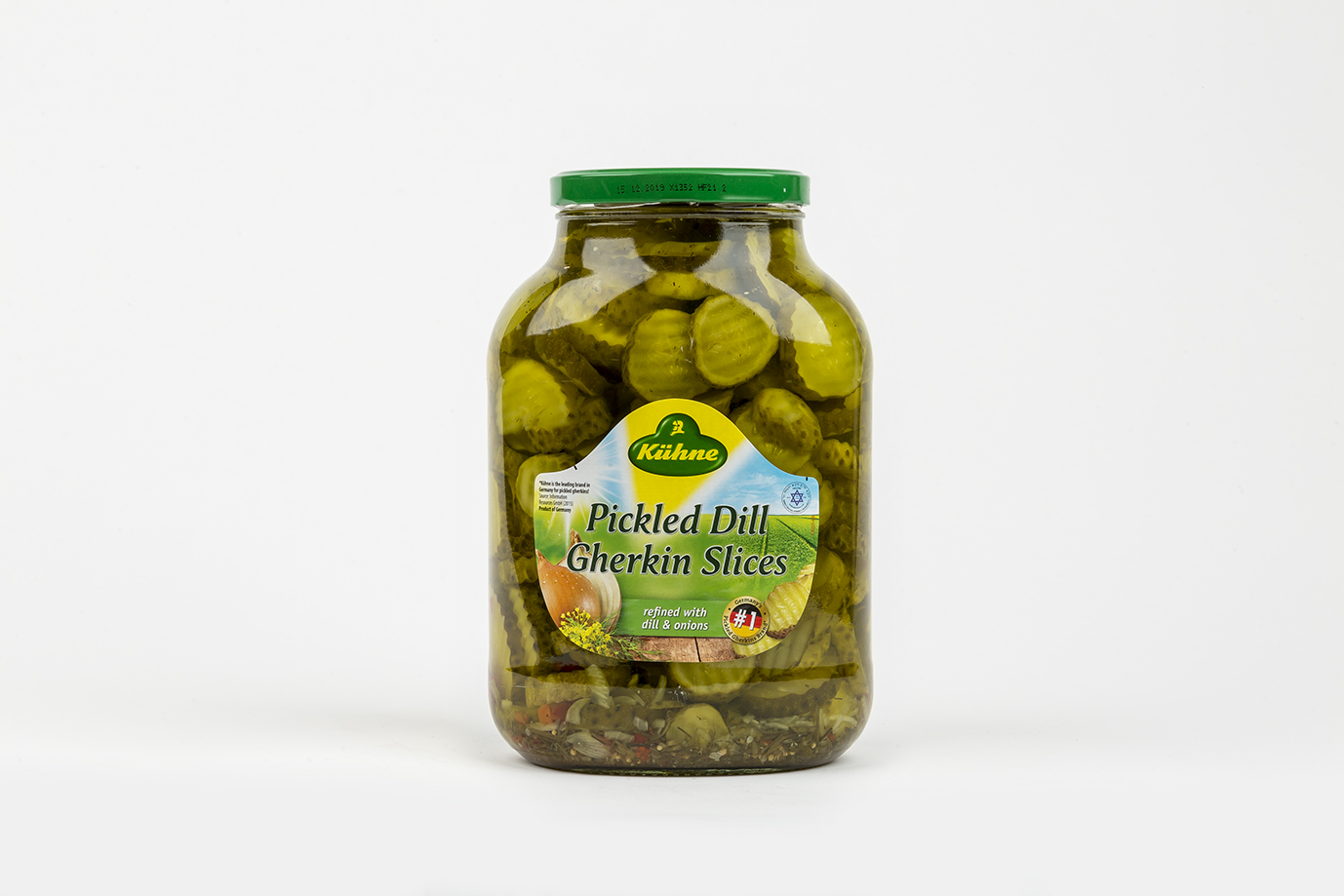 Image of Gherkins (Jar) 2.65 ltr