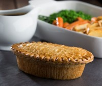 Image of Chase Farm Steak & Kidney Pies (5 in a box)