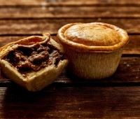 Image of Gourmet Angus Steak Pie 6 x 8oz Wrapped