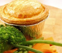 Image of Gourmet Steak & Mushroom Pies x 12 WRAPPED
