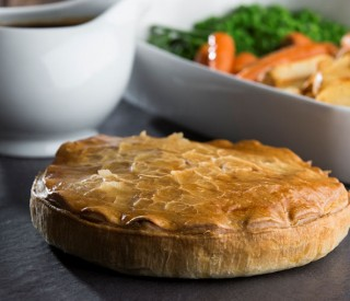 Image of Plate Chicken & Ham Pie (2 per box) WRAPPED