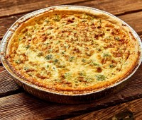 Image of Quiche 12 Inch - Stilton and Broccolli