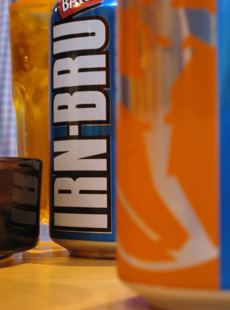 Image of Irn Bru Cans 24 x 330ml