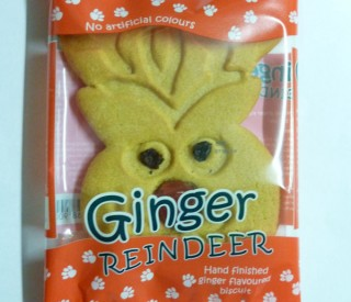 Image of Ginger Reindeer Biscuits (case of 24)