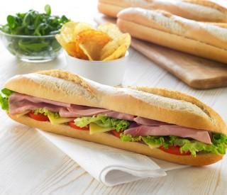 Image of May Spec - COMBO - Baguettes(30) & Cajun & Tomato Sandwich Filling 1kg