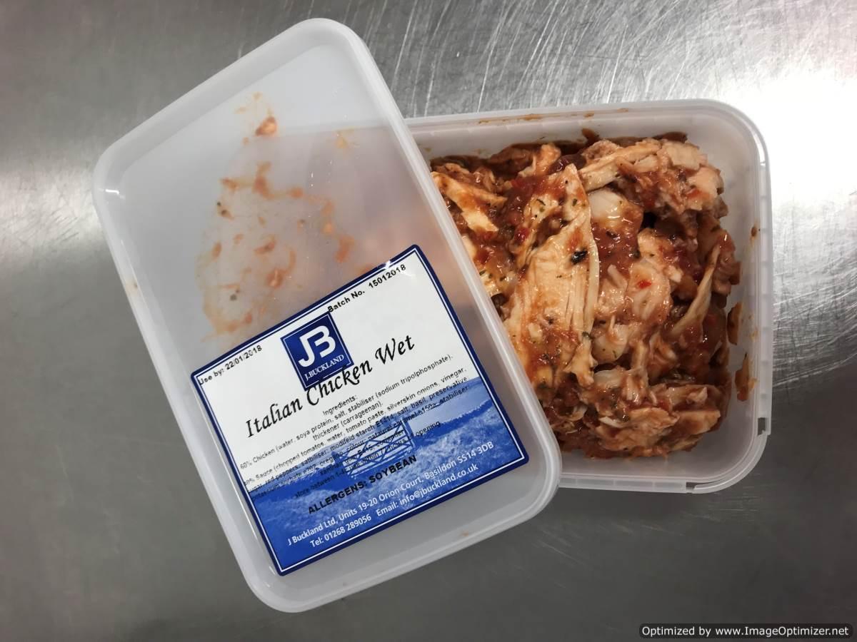 SPECIAL Italian Chicken Wet Sandwich Filling 1 kg