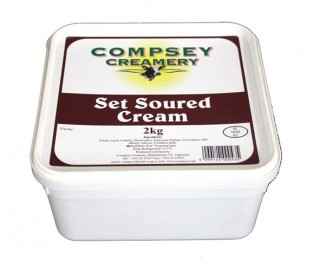 Image of Sour Cream 2 kg tub