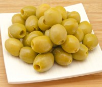 Image of Pitted Green Olives Jar 4.3kg