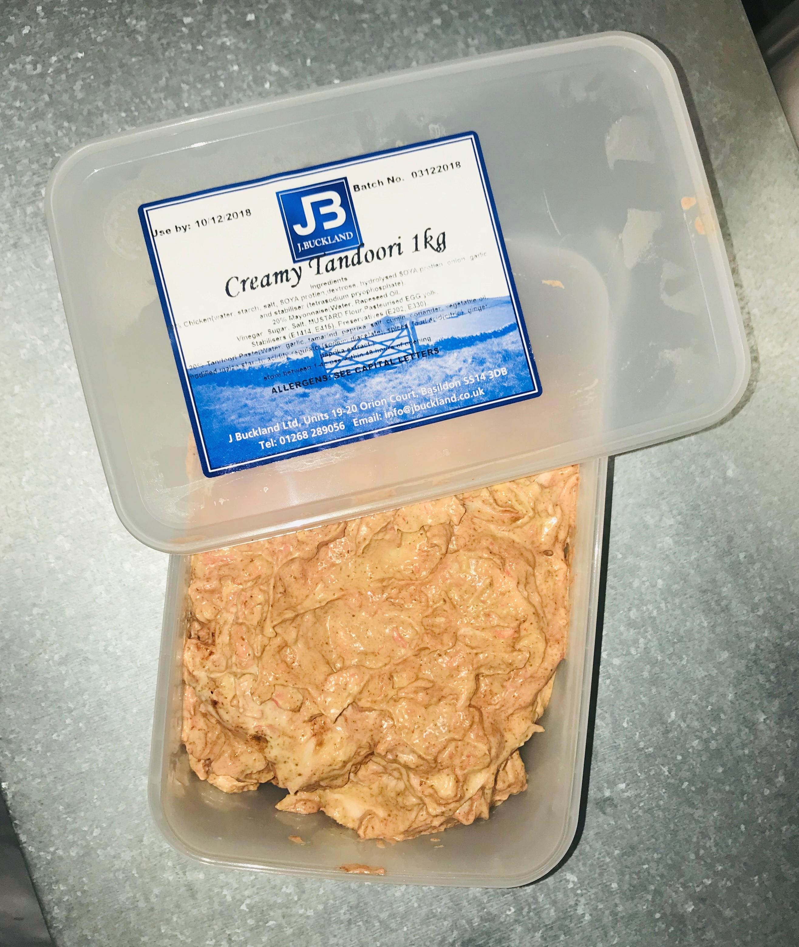 Creamy Tandoori Sandwich Filling 1kg