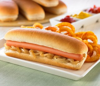Image of Euro Hot Dog Roll (6.5) x 48 SMALL