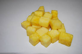 Image of Frozen Pineapple 10kg Bags