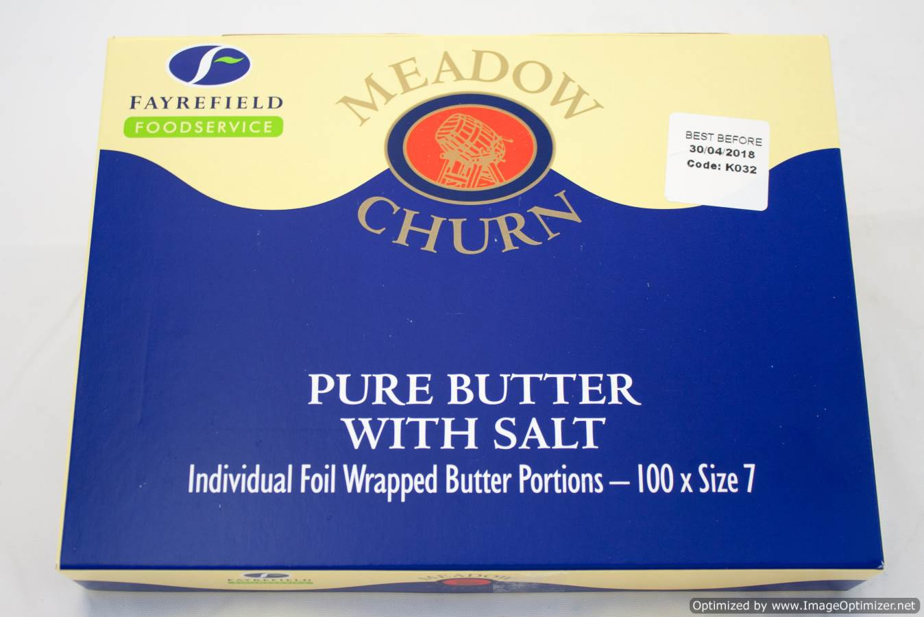 Butter Portions x 100