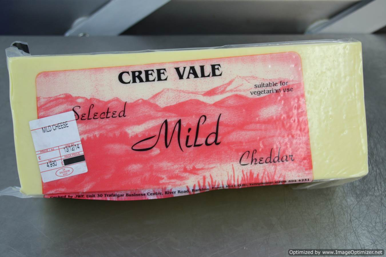 Image of CREE VALE Mild Cheese 5kg Block