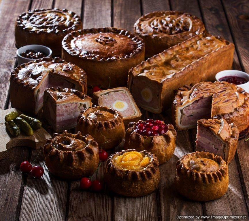 Image of Large Individual Pork Pie 1lb/454g (case of 10)
