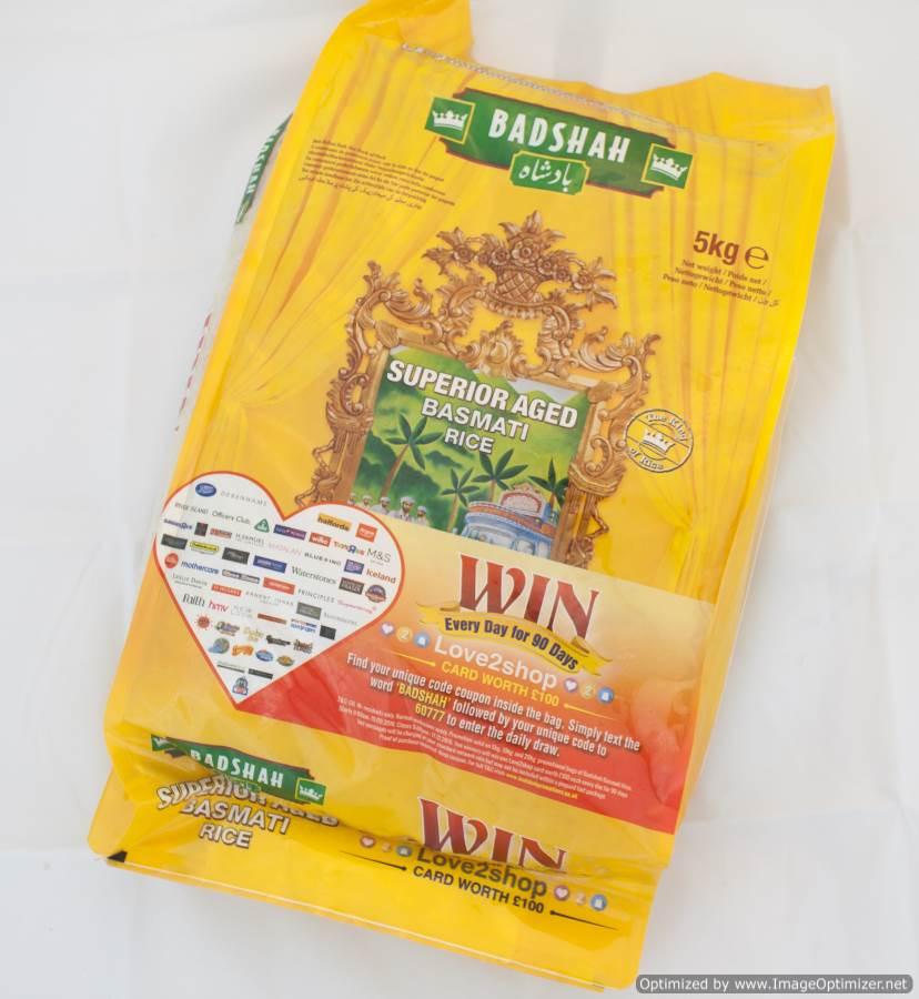 Basmati Rice Easy To Cook 5kg Bag