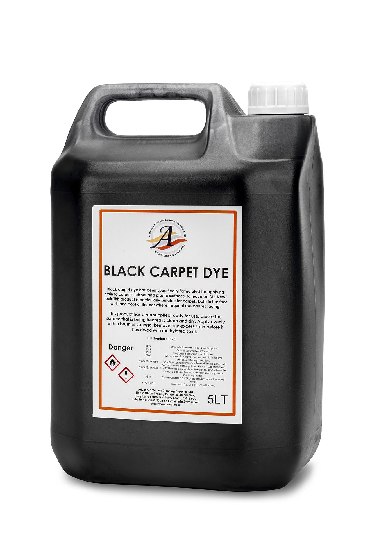 image of Black Carpet Dye 5LT