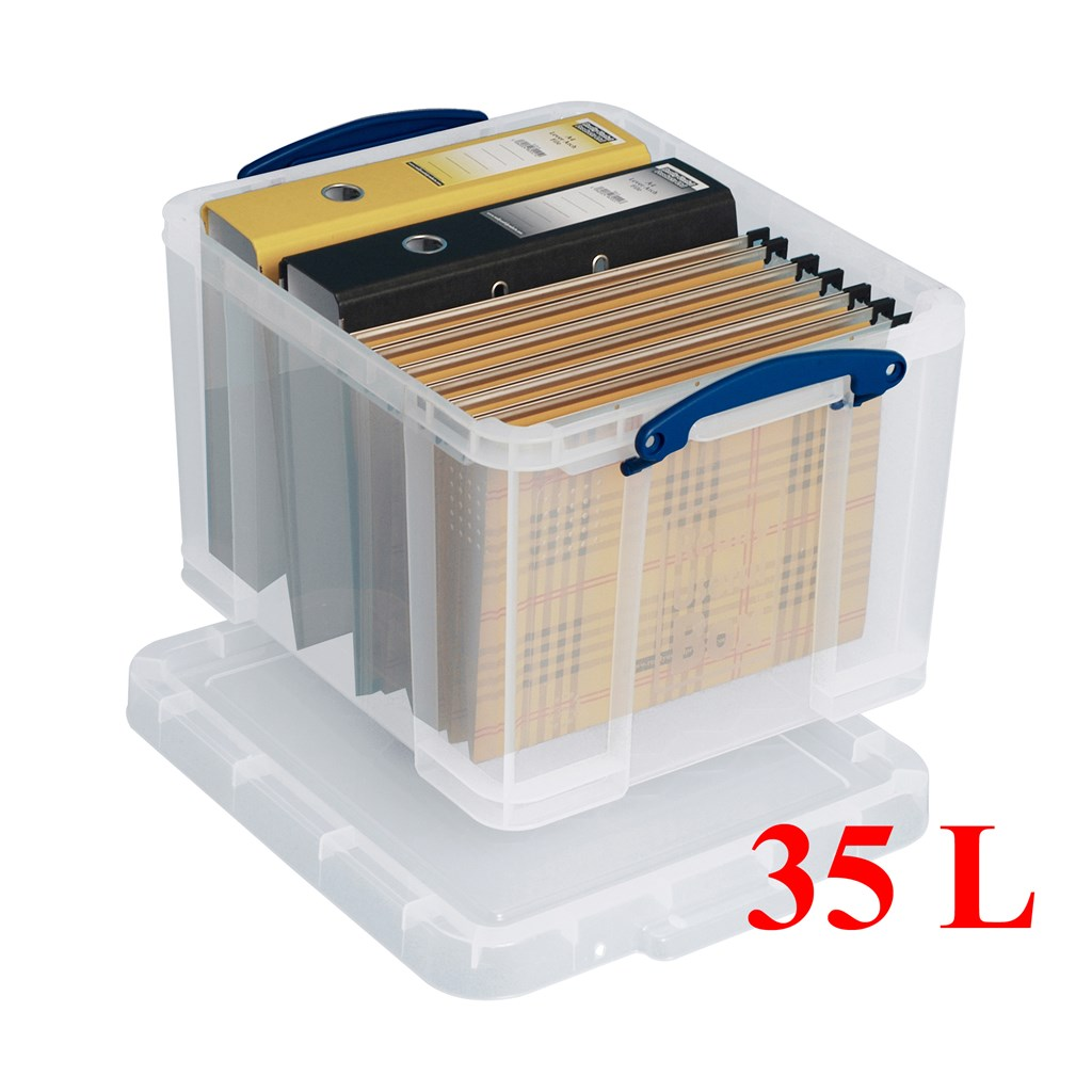 Really Useful Boxes Heavy Duty Stackable Storage Box 35