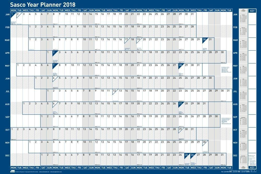 Academic calendars 2018/2019 as free printable Word templates
