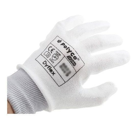 Polyco DyFlex 8820 Cut Resistant PU Palm Safety Work Gloves Size Choice....