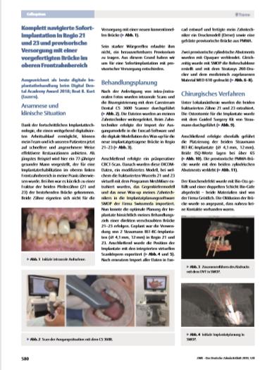 ZWR - Das Deutsche Zahnärzteblatt, November 2019