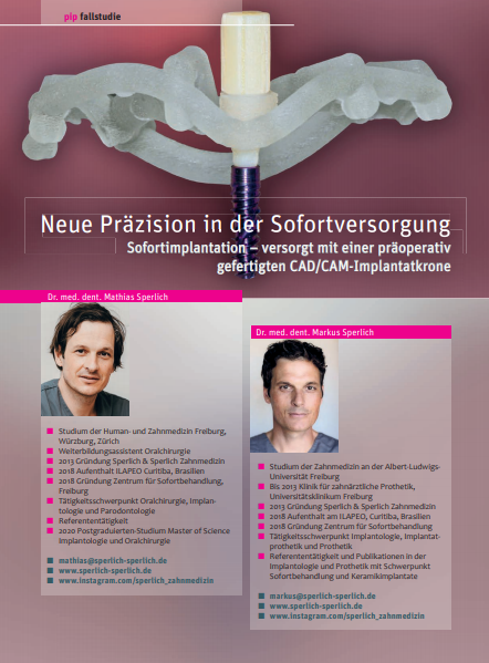 Praktische Implantologie und Implantatprothetik   pip 4   April 2021