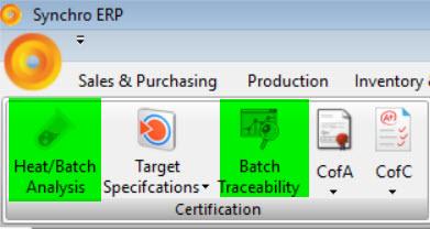 SYNCHRO ERP WEBINAR on Batch Analysis and Trace-ability