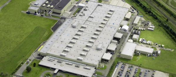 The Toyota Motor Manufacturing plant in Deeside, UK.