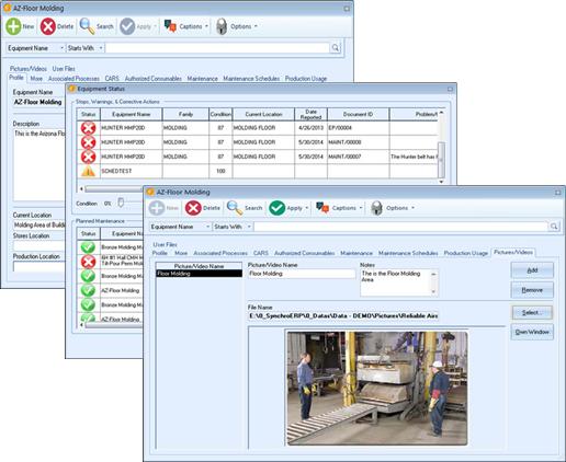 Equipment Maintenance Management