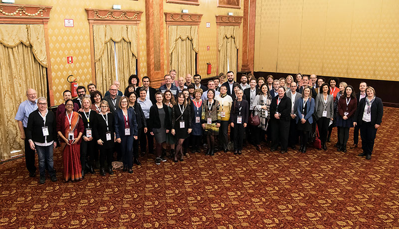 SPAEN 2018 osallistujien yhteiskuva