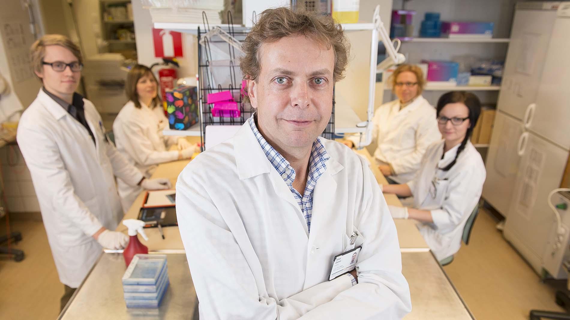 Tutkimusmatkalla: Professori Klaus Elenius
